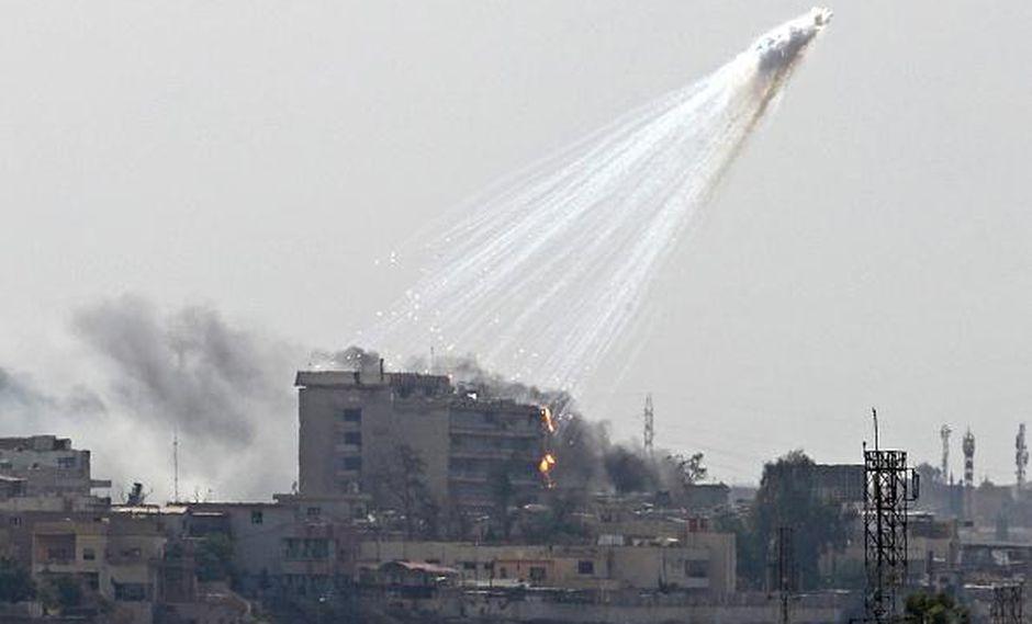 Rusia acusa a Estados Unidos de bombardear Siria con fósforo blanco | Deir Ezzor. (Foto referencial AFP).