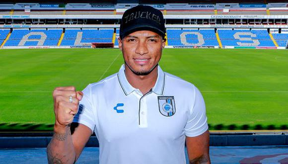 Antonio Valencia estuvo hasta hace algunos meses en Liga de Quito. (Foto: Querétaro FC)