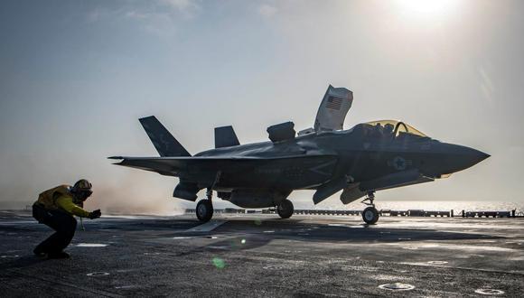 """""""Estados Unidos ha intensificado sus ataques aéreos en apoyo de las fuerzas afganas en los últimos días y estamos listos para continuar con este alto nivel de apoyo en los próximos días, si los talibanes continúan sus ataques"""", dijo el general Kenneth McKenzie, jefe del Comando Central del Ejército de EE.UU. (Foto: Reuters)"""