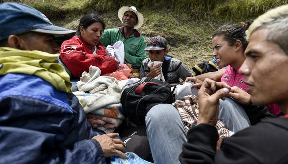 ONU lanza programa de formación a migrantes venezolanos en Perú y Colombia. Foto: AFP
