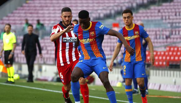 Ilaix Moriba debutó la pasada temporada con FC Barcelona. (Foto: AP)