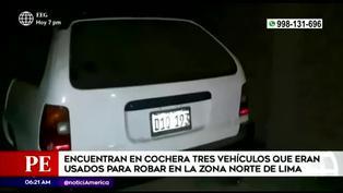 Ancón: Policía encuentra vehículos utilizados para robar en la zona norte de Lima