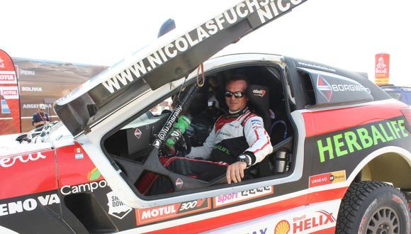 Nicolás Fuchs logró meterse en el top ten antes de abandonar. (Foto: Christian Cruz Valdivia)