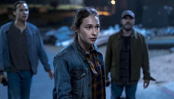 """""""Fear The Walking Dead"""" Alicia Clark (Alycia Debnam-Carey) está presente en la serie desde su primera temporada. (Foto: AMC)"""