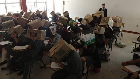 La idea del docente dividió las opiniones de los usuarios de las redes sociales. (Foto: Facebook)