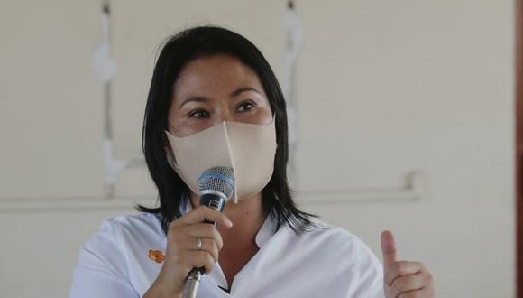 Keiko Fujimori debe solicitar permiso judicial para salir de Lima en campaña electoral.