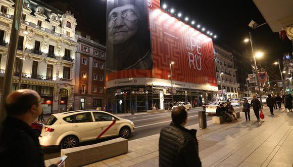 El Perú en todo Madrid. La agresiva campaña publicitaria de PromPerú resultó fundamental para convocar al público español a la Feria Internacional de ARCOmadrid 2019.