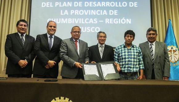 Cusco: firman acta final de mesa de desarrollo de Chumbivilcas