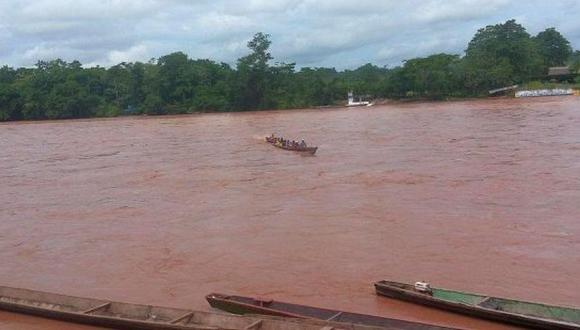 Ríos de la selva continúan aumentando su nivel de caudal. (Foto referencial: archivo)