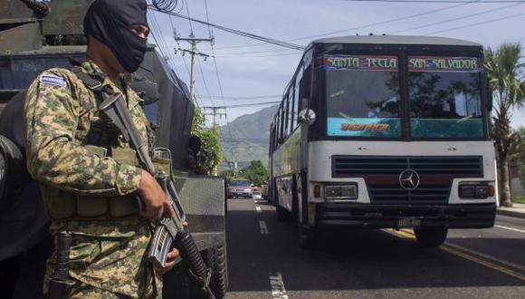 El Salvador: Pandilleros suspenden paro que dejó 11 muertos