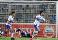 U. Católica derrotó 3-1 a Nacional y se mantiene en la lucha del Grupo F de la Copa Libertadores 2021