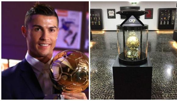 Cristiano: este es el nuevo hogar de su cuarto Balón de Oro