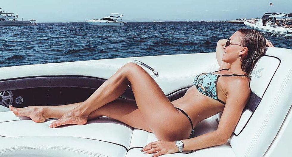 Lo que más ha llamado la atención es que Angelique Boyer ha compartido una serie de imágenes de infarto en bikini. (Foto: Instagram)