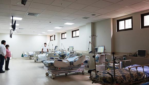 A la fecha, hay 62 pacientes hospitalizados por COVID-19 en la región. (Foto: GEC/referencial)