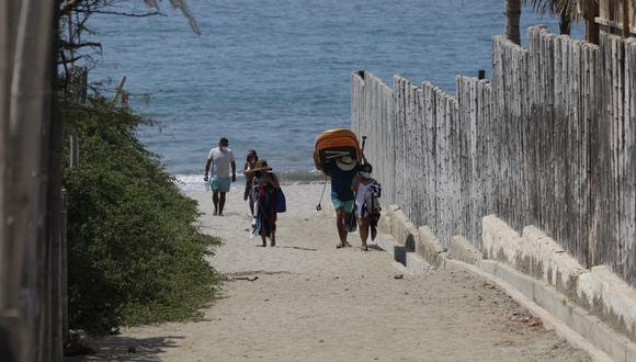 La Digesa elaboró una directiva en la que se detallan los protocolos que se deberán seguir en las playas autorizadas a funcionar para evitar el contagio y propagación del coronavirus. (Foto: GEC/ César Bueno)