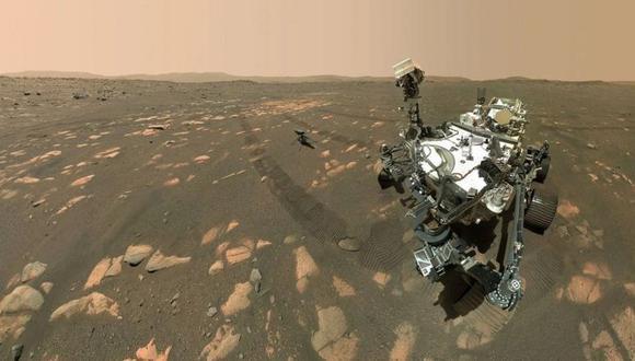 Perseverance. (NASA/JPL-CALTECH)