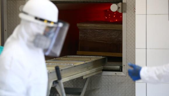 El Minsa ha establecido que el cadáver debe ser cremado dentro de un plazo máximo de 24 horas desde el momento que se certifica su fallecimiento por COVID-19. (Foto: Hugo Curotto)