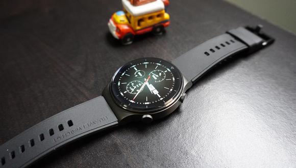 Huawei Watch GT 2 Pro. (Foto: Julio Melgarejo)