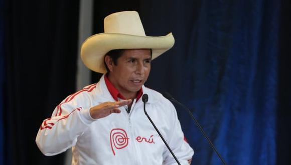Castillo dijo que en un eventual mandato a su cargo se creará el Consejo Nacional Anticorrupción. (Foto: GEC)