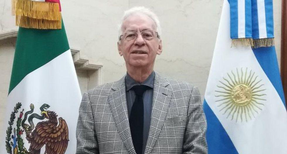 Ricardo Valero había entregado sus cartas credenciales de embajador de México en Argentina en agosto pasado. (SRE).