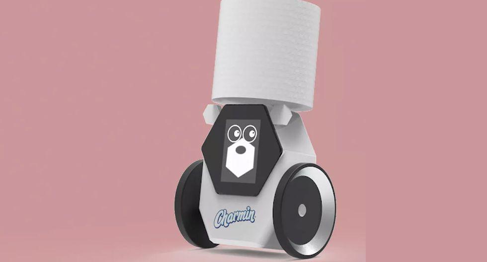 ¿Un robot que te pasa el papel higiénico si no lo tienes en la mano? Conoce esta curiosidad del CES 2020. (Foto: P&G)