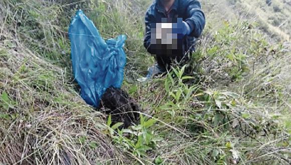El cadáver sería de una menor de 16 años reportada como desaparecida hace varios días en Huancavelica. (Foto: GEC)