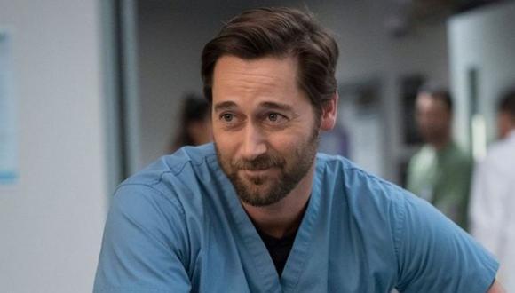 El Dr. Max Goodwin es interpretado por Ryan Eggold (Foto Instagram/New Amsterdam)