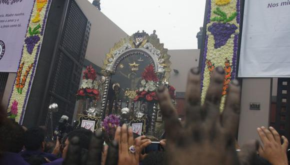 Señor de los Milagros: hoy cierran Av. Tacna a las 9 a.m.