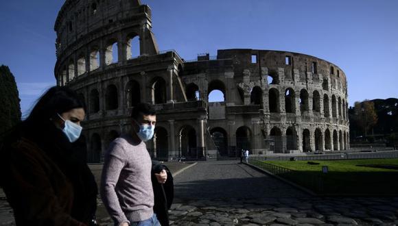 Coronavirus en Italia | Últimas noticias | Último minuto: reporte de infectados y muertos hoy, sábado 27 de febrero del 2021 | Covid-19. (Foto: Filippo MONTEFORTE / AFP).