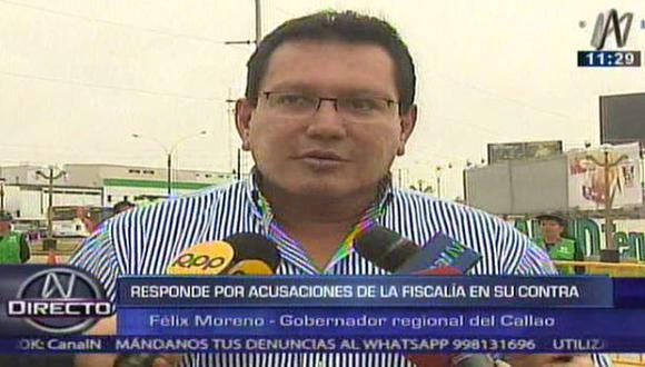 """Félix Moreno: """"No voy a ser cortina de humo de nadie"""""""