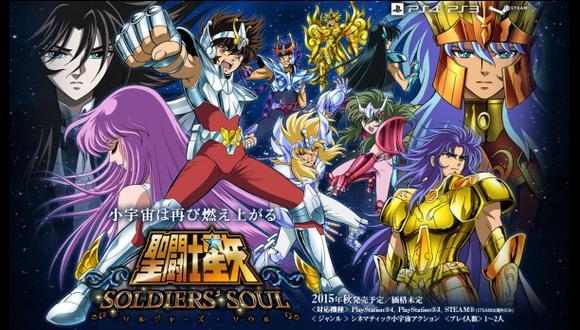 Publican tráiler de lanzamiento de Saint Seiya: Soldiers' Souls