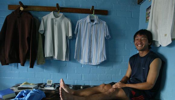 Masakatasu Sawa en una imagen del 2005, cuando llegó a jugar por Sporting Cristal. (Foto: Richard Hirano/ El Comercio)