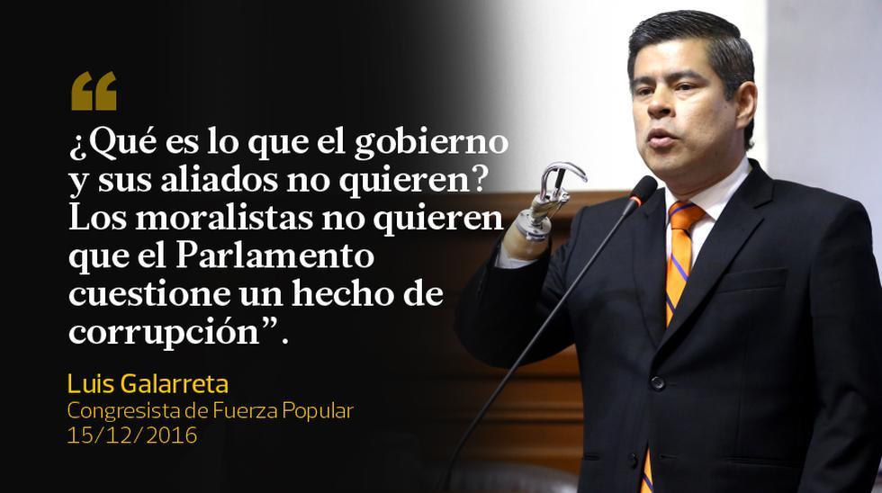 Las frases del debate en el Congreso, donde finalmente se censuró a Jaime Saavedra. (Fotos: Congreso)