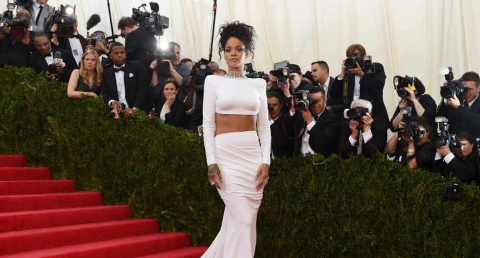 """Rihanna celebra el tercer aniversario de su disco """"Anti"""" (Foto: AFP)"""