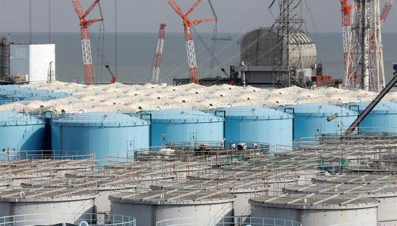 La planta de energía nuclear de Daiichi en la ciudad de Okuma, prefectura de Fukushima, el 22 de enero de 2020. (EFE / EPA / KIMIMASA MAYAMA).