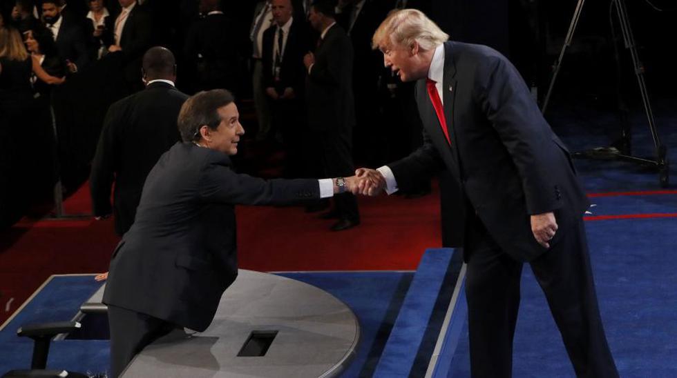Las mejores fotos del último debate entre Clinton y Trump - 21