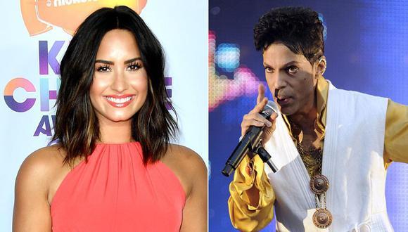 Demi Lovato y Prince. (Fotos: Agencias)