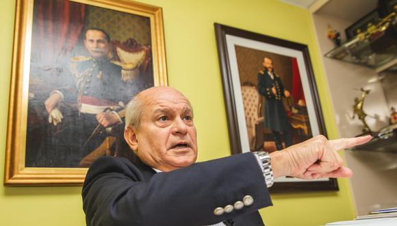 Ex primer ministro Pedro Cateriano se pronunció sobre voto de confianza otorgado a Walter Martos. (Foto: GEC)