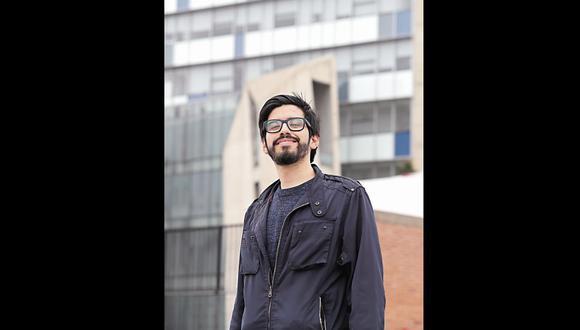 Santiváñez es el vicepresidente del Centro de Estudiantes de la Facultad de Arquitectura y Urbanismo de la PUCP. [Foto: Rolly Reyna]