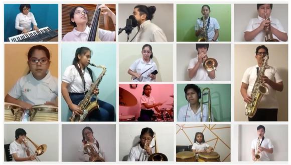 Durante el año, Sinfonía por el Perú realizó más de 15 presentaciones virtuales. Adaptación, buen ánimo y amor al arte fueron algunos de los puntos claves para que esto sea posible. (Foto: Sinfonía por el Perú)