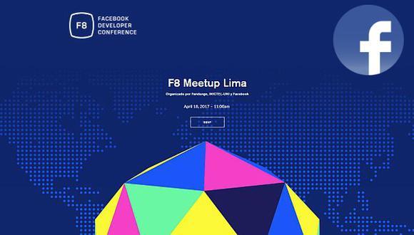 F8: anuncios sobre futuro de Facebook se seguirán desde Lima