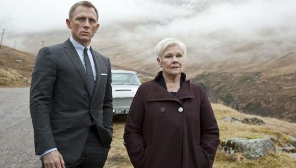 """Judi Dench lloró al saber que su personaje moría en """"Skyfall"""""""