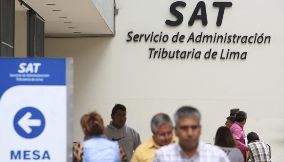 Prometen congelar las papeletas en la misma puerta del SAT. (Foto: Archivo El Comercio)