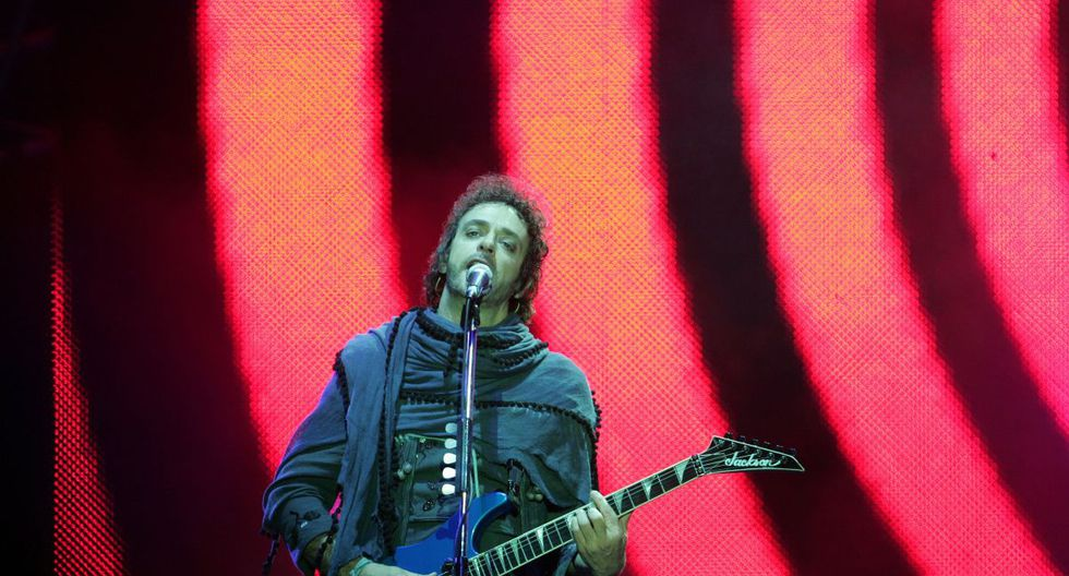 """Cerati volvió al Perú en abril del 2010, con la gira """"Fuerza Natural"""". (Foto: Ernesto Arias/ El Comercio)"""