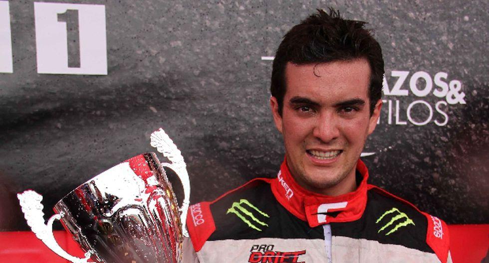 Lucho Mendoza Jr. gana tercera fecha de Campeonato de Drifting