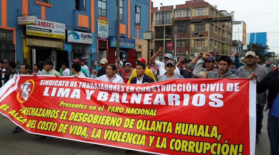Marcha de CGTP: trabajadores pidieron aumento de sueldo mínimo - 8