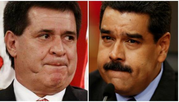Crisis en Mercosur: Paraguay llama a su embajador en Venezuela