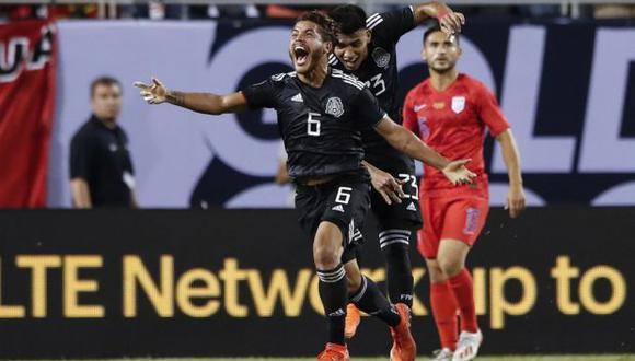 El historial favorece a México con 35 triunfos sobre Estados Unidos. (Foto: AFP)