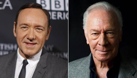 "Christopher Plummer tomará el lugar de Kevin Spacey en ""All the Money in the World"" de Ridley Scott. (Fotos: Agencias)"