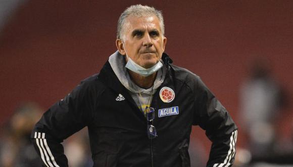 Carlos Queiroz es entrenador de la selección de Colombia desde febrero del 2019. (Foto: AFP)